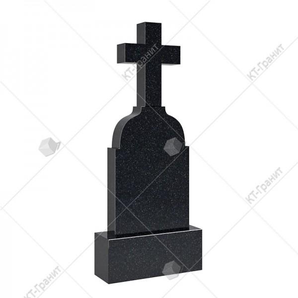Крест надгробный из гранита. Модель KR104