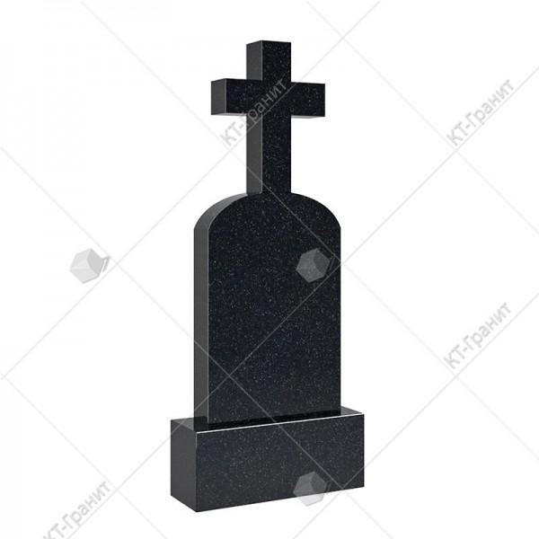 Крест надгробный из гранита. Модель KR102