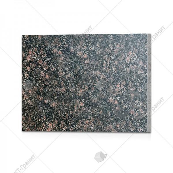 Плитка полированная  из брусиловского гранита  (h=2 см)