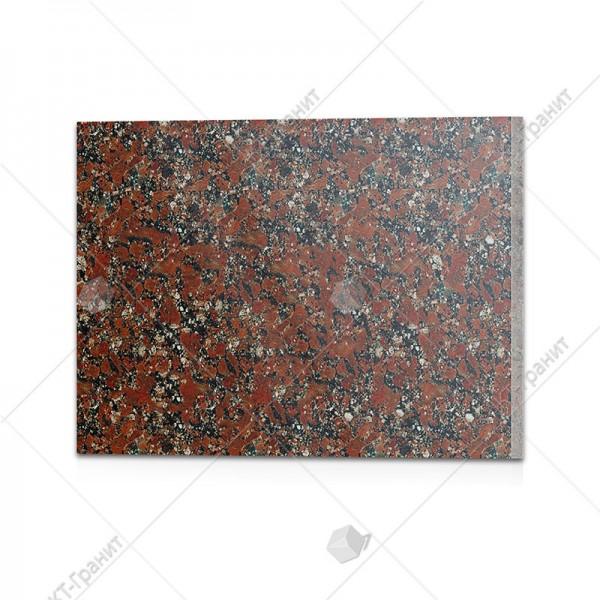Плитка полированная  из капустинского гранита (h = 2 см)