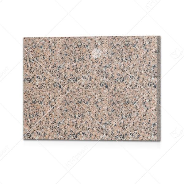 Плитка полированная  из межериченского гранита (h = 2 см)