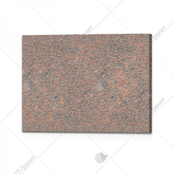 Плитка полированная  из новоданиловского гранита  (h=2 см)