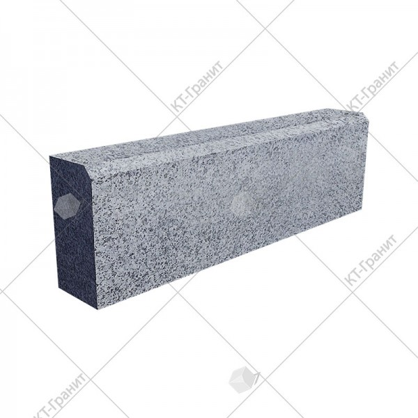 Гранитные бордюры из покостовского гранита ГП4 100*200*Д