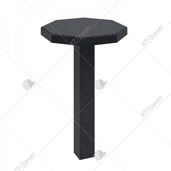 Стол из гранита на могилу. Модель ST12