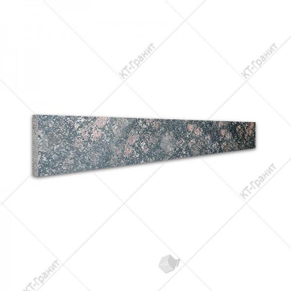 Подступенок из брусиловского гранита для накладных ступеней ,  толщина 2 см