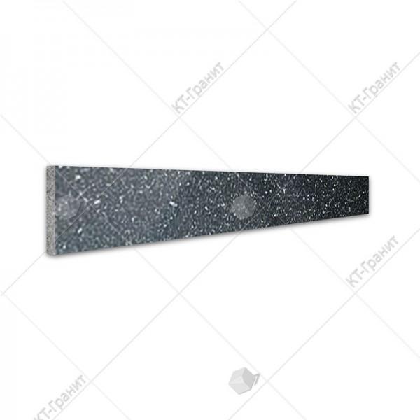 Подступенок из гранита габбро для накладных ступеней ,  толщина 2 см