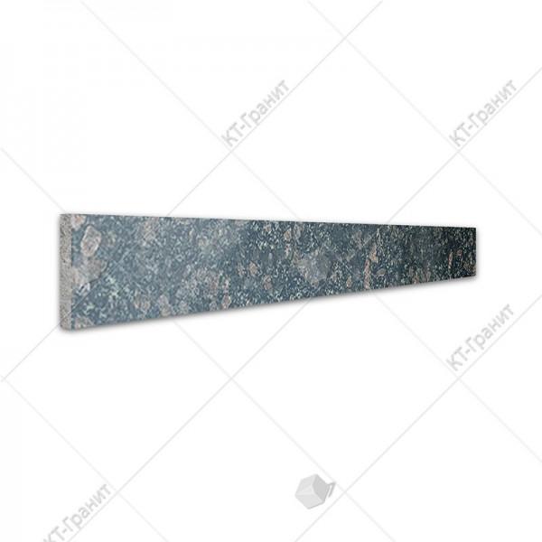 Подступенок из корнинского гранита для накладных ступеней ,  толщина 2 см