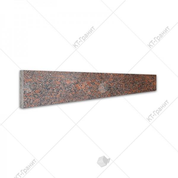 Подступенок из новоданиловского гранита для накладных ступеней ,  толщина 2 см