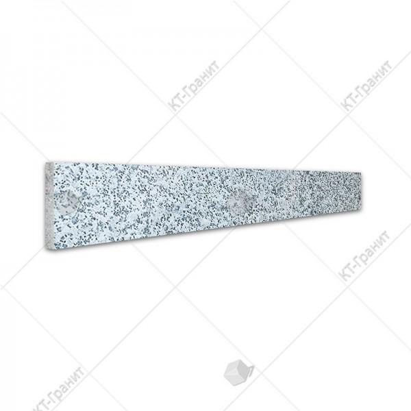 Подступенок из покостовского гранита для накладных ступеней ,  толщина 2 см